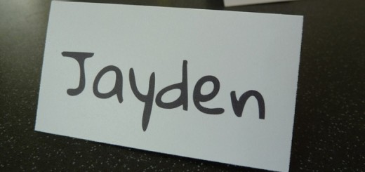 Big.first.name Place Name Card